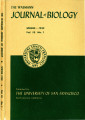The Wasmann Journal of Biology Vol. 10, No. 1, Spring 1952