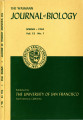 The Wasmann Journal of Biology Vol. 12, No. 1, Spring 1954