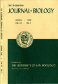 The Wasmann Journal of Biology Vol. 16, No. 1, Spring 1958