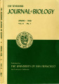 The Wasmann Journal of Biology Vol. 8, No. 1, Spring 1950