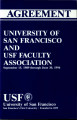1989-1994 Collective Bargaining Agreement Between the University of San Francisco and the USF...