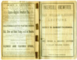 Ingersoll answered; Rev. William Gleeson's lecture in reply to Robert Ingersoll, delivered in...
